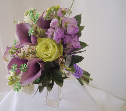 Lavender mini calla bouquet in saratoga springs ny dehns flowers view larger lavender mini calla bouquet in saratoga springs ny dehns flowers mightylinksfo