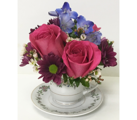Teacup Delights- Designed All-Around in Wyoming MI, Wyoming Stuyvesant Floral