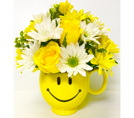 Be Happy Bouquet - Designed All-Around in Wyoming MI, Wyoming Stuyvesant Floral