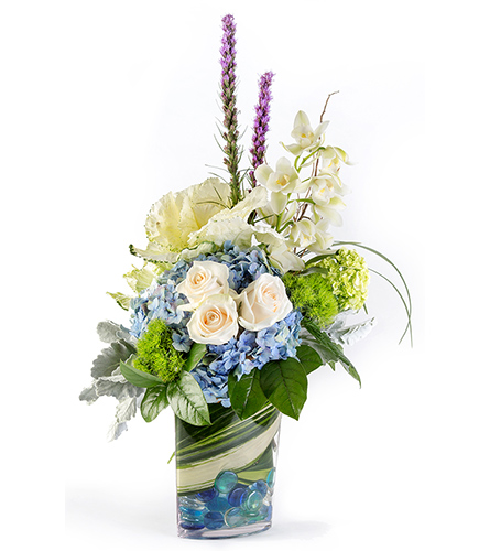 Blue Sky in Fort Worth TX, TCU Florist