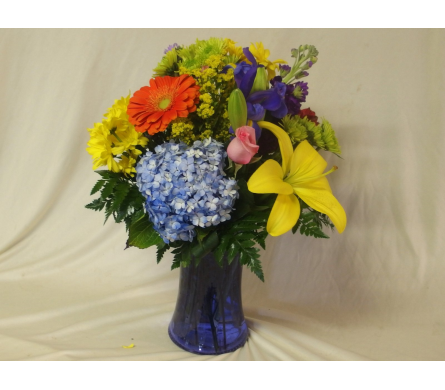 Bright Thoughts Vase Arrangement in Hollidaysburg PA, Warner's Florist Gifts & Greenhouse