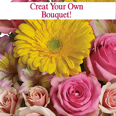 Create Your Own Bouquet in Cincinnati OH, Peter Gregory Florist