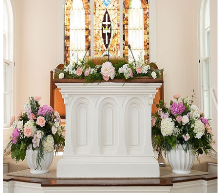Altar One dans Watertown CT, Agnew Florist