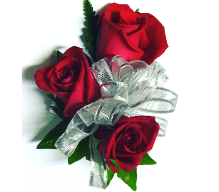 Classic Red Rose Wrist Corsage in Wyoming MI, Wyoming Stuyvesant Floral