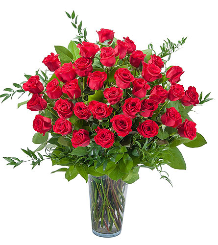 Room Full of Roses - 3 Dozen Roses in Oshkosh WI, Flowers & Leaves LLC