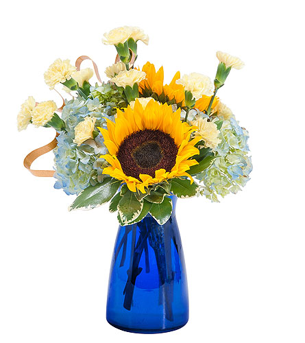 Good Morning Sunshine in Spartanburg SC, A-Arrangement Florist