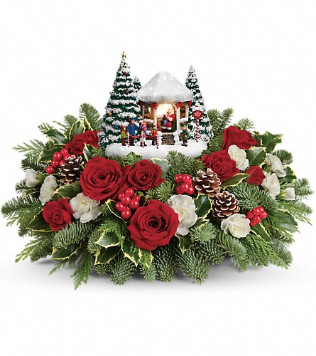 Thomas Kinkade's Jolly Santa Bouquet in Orlando FL, Elite Floral & Gift Shoppe