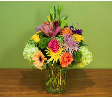 Summer Enchantment Vase  in Merrick NY, Feldis Florists