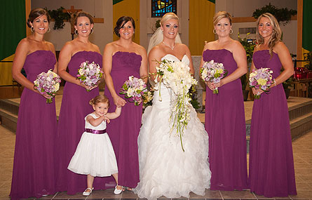 Wedding Party in Abington MA, The Hutcheon's Flower Co, Inc.