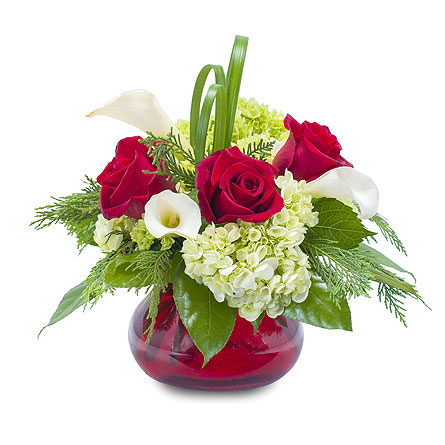 Chic Winter Romance in South Hadley MA, Carey's Flowers, Inc.