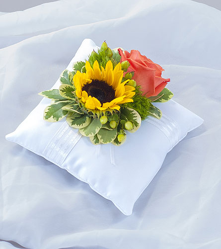 Sunset Pillow Insert in Weymouth MA, Bra Wey Florist