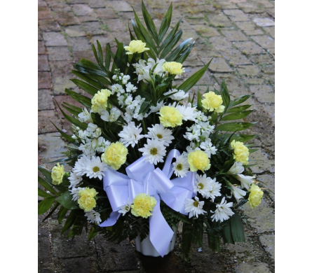 Traditional Sympathy Arrangement in Winchester VA, Flowers By Snellings