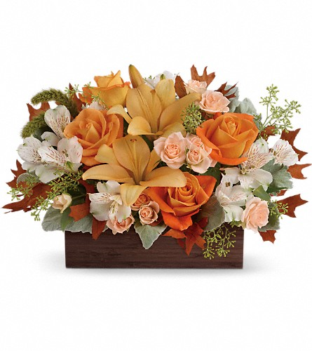Teleflora's Fall Chic Bouquet in Cudahy WI, Country Flower Shop