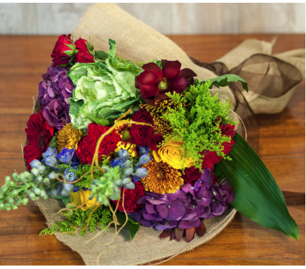 Artisan hand tied bouquet.  in Merrick NY, Feldis Florists