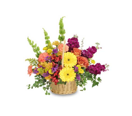 Floral Flavor Basket in Sayville NY, Sayville Flowers Inc