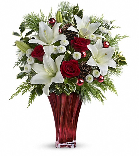 Teleflora's Wondrous Winter Bouquet in Lewistown MT, Alpine Floral Inc Greenhouse