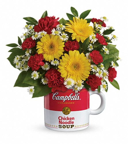 Campbell's Healthy Wishes by Teleflora in Columbus IN, Fisher's Flower Basket