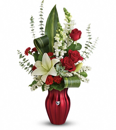Teleflora's Hearts Aflutter Bouquet in Newport VT, Spates The Florist & Garden Center