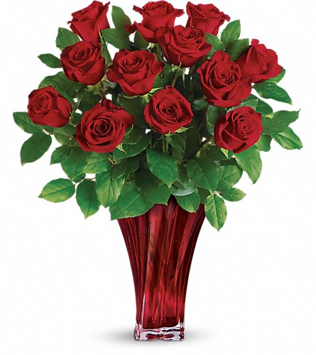 Teleflora's Legendary Love Bouquet in Woodbridge NJ, Floral Expressions