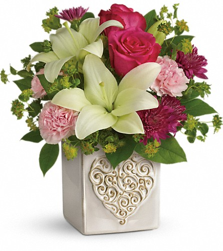 Teleflora's Love To Love You Bouquet in Festus MO, Judy's Flower Basket