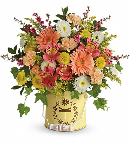 Teleflora's Country Spring Bouquet in Peoria IL, Sterling Flower Shoppe