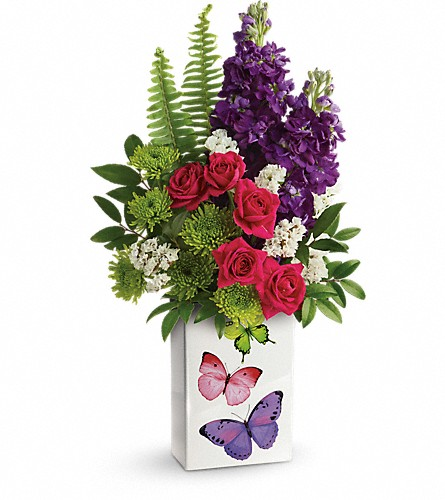 Teleflora's Flight Of Fancy Bouquet in Oklahoma City OK, Capitol Hill Florist and Gifts