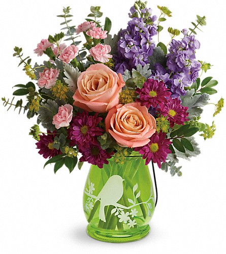 Teleflora's Soaring Spring Bouquet in Bedford IN, West End Flower Shop