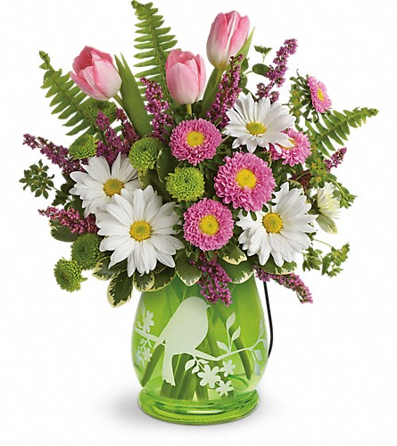 Teleflora's Songs Of Spring Bouquet in Aston PA, Wise Originals Florists & Gifts