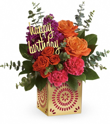 Teleflora's Birthday Sparkle Bouquet in Oklahoma City OK, Capitol Hill Florist and Gifts