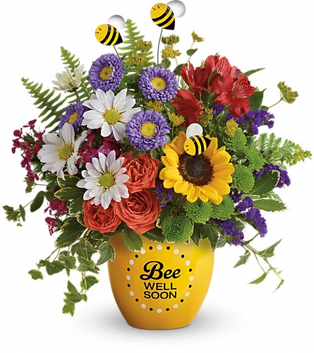 Teleflora's Garden Of Wellness Bouquet in Pearland TX, The Wyndow Box Florist