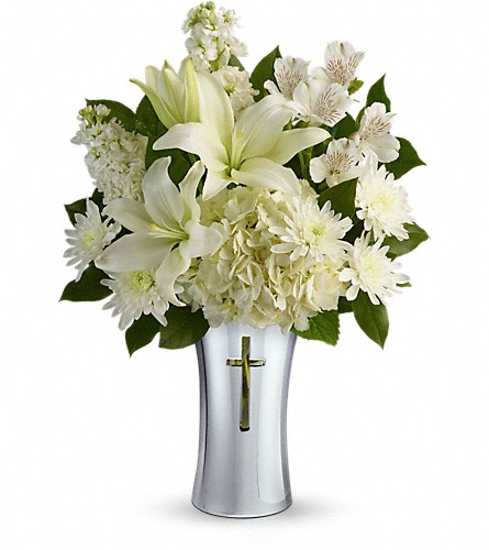 Teleflora's Shining Spirit Bouquet in Edmonton AB, Petals For Less Ltd.