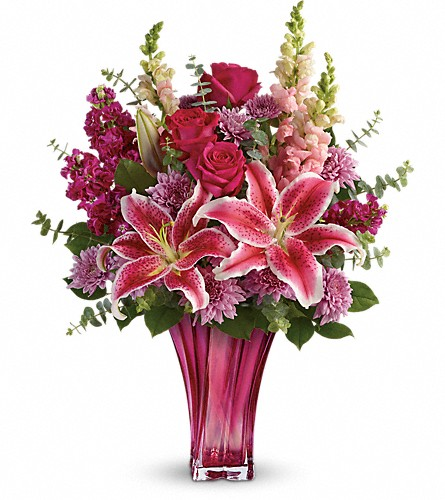 Teleflora's Bold Elegance Bouquet in Belford NJ, Flower Power Florist & Gifts