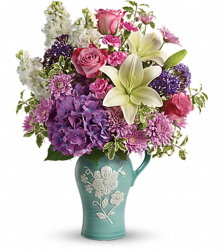 Teleflora's Natural Artistry Bouquet in Ft. Lauderdale FL, Jim Threlkel Florist