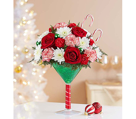 Martini Bouquet™ Peppermint dans Watertown CT, Agnew Florist