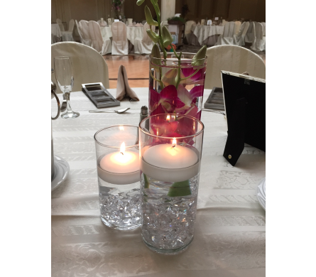 Cylinder Centerpiece in Bayside NY, Bell Bay Florist