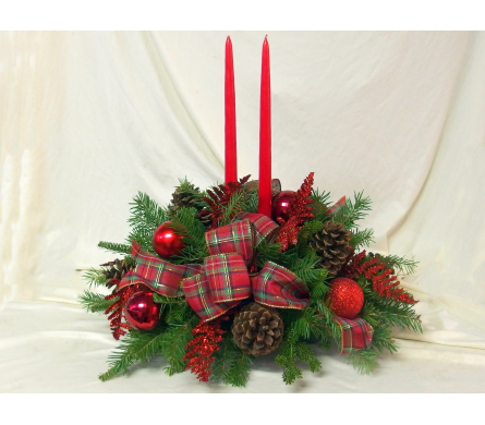 Christmas Glow Centerpiece in Hollidaysburg PA, Warner's Florist Gifts & Greenhouse