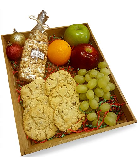 Santa Snack Tray in Fort Worth TX, TCU Florist