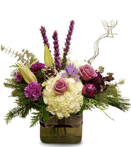 TCU Horned Frog Holiday in Fort Worth TX, TCU Florist