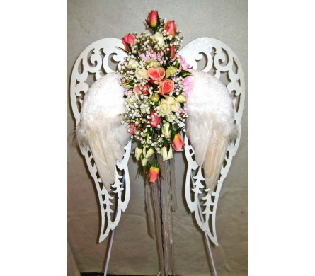 Heaven's Special Angel Wings in Lake Charles LA, A Daisy A Day Flowers & Gifts, Inc.