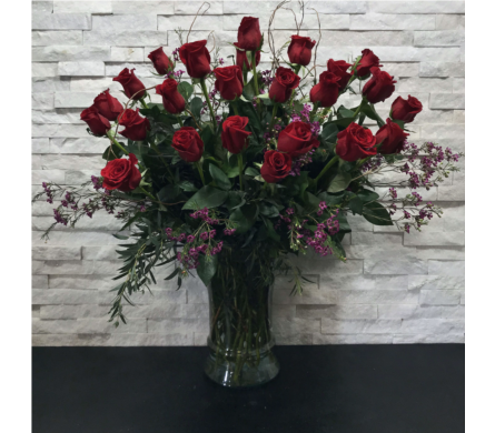 Two Dozen Roses in Ft. Collins CO, Palmer Flowers