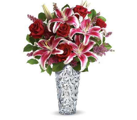 Diamonds And Lilies Bouquet in Oklahoma City OK, Array of Flowers & Gifts