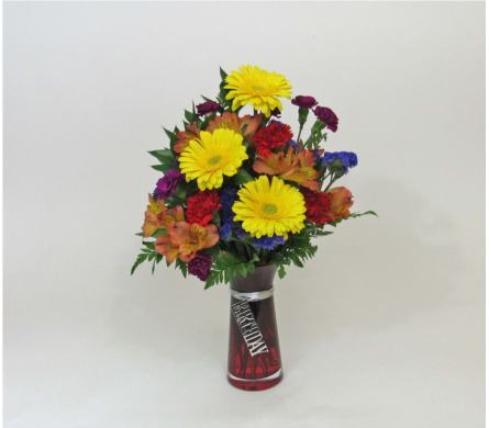 Birthday Bright Bouquet in Royersford PA, Three Peas In A Pod Florist