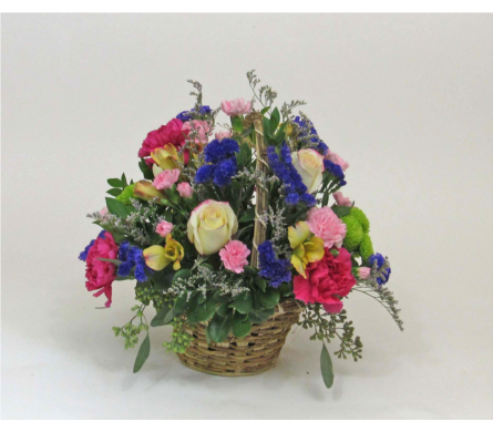 Basket Full of Beauty in Royersford PA, Three Peas In A Pod Florist