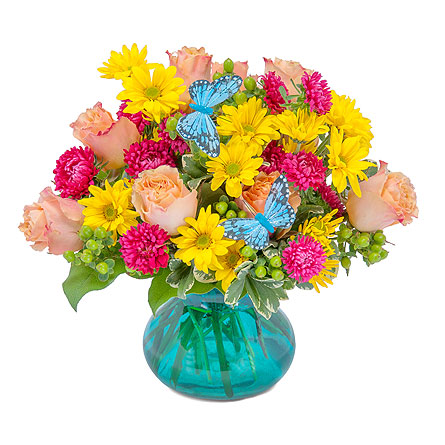 Flutter Your World in Lake Elsinore CA, Lake Elsinore V.I.P. Florist