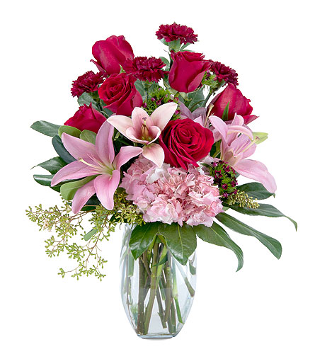 Blushing Rose in Muscle Shoals AL, Kaleidoscope Florist & Gifts