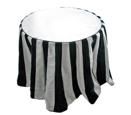 ... Black And White Tablecloth. View Larger