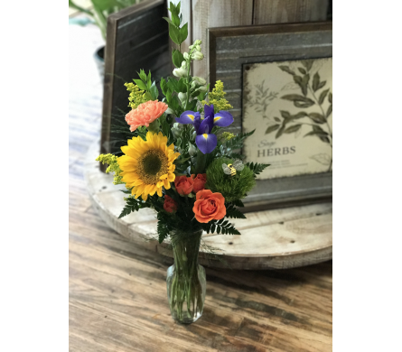 Simply Mixed in Creedmoor NC, Gil-Man Florist Inc.