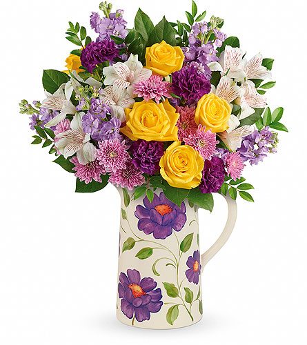 Garden Blossom Bouquet in Oklahoma City OK, Array of Flowers & Gifts