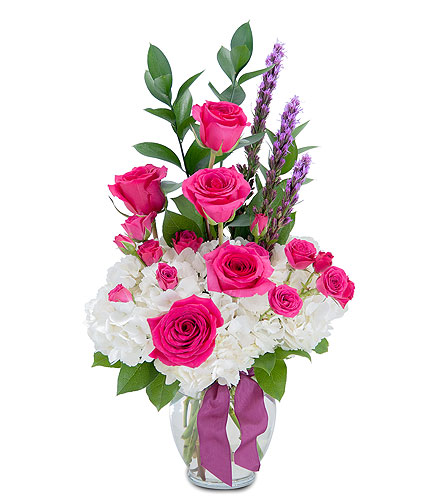 Pleasantly Pink in Schaumburg IL, Deptula Florist & Gifts