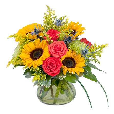 Sunlit Splendor in Augusta GA, Ladybug's Flowers & Gifts Inc